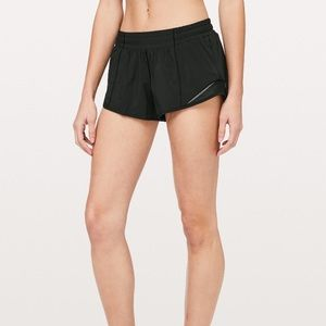 "Lululemon Hotty Hot Shorts II 2.5"" - size 2"